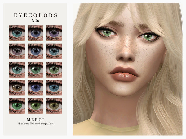 Sims 4 Eyecolors N26 by Merci at TSR