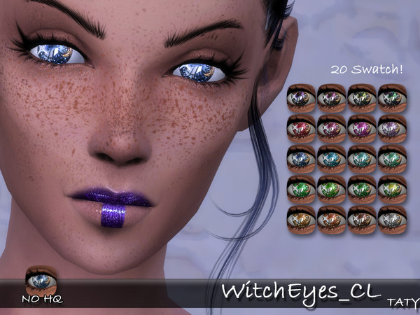 Witch Eyes CL by tatygagg at TSR image 340 Sims 4 Updates