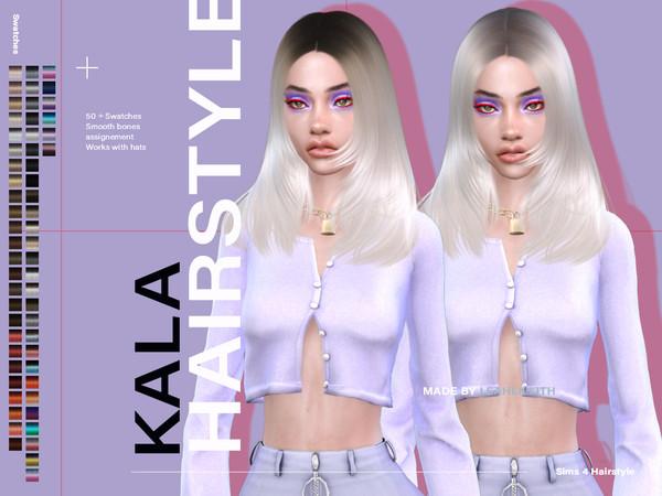 Kala Hair by Leah Lillith at TSR image 3413 Sims 4 Updates