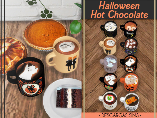 Halloween Hot Chocolate (P) at Descargas Sims image 3451 Sims 4 Updates