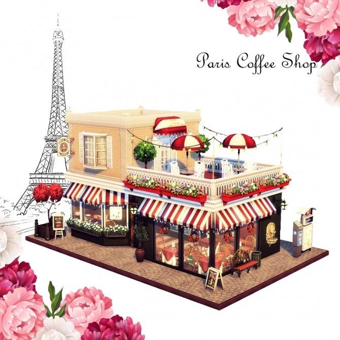 Paris Coffee Shop at Agathea k image 382 670x670 Sims 4 Updates