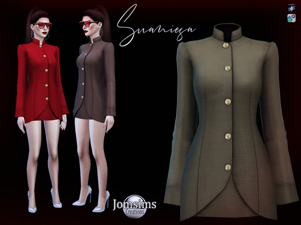 Suaniesa dress by jomsims at TSR image 386 Sims 4 Updates