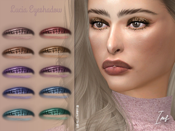 Sims 4 IMF Lucia Eyeshadow N.107 by IzzieMcFire at TSR