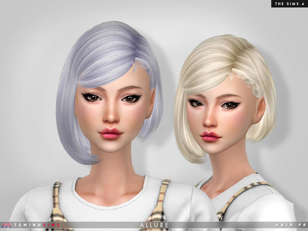 Allure Hair 98 by TsminhSims at TSR image 406 Sims 4 Updates