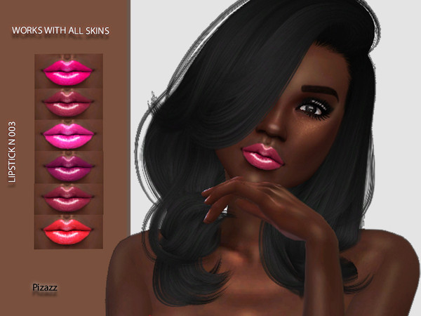 Sims 4 Lipstick N 003 by pizazz at TSR