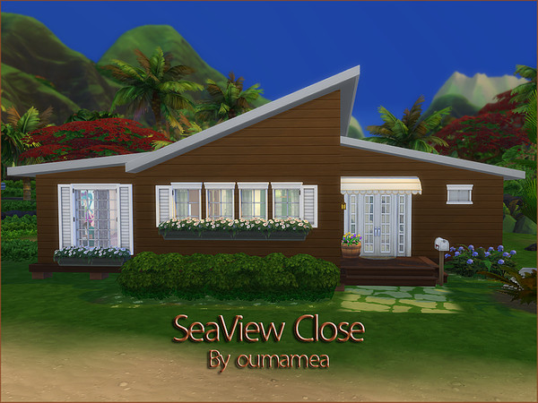 SeaView Close house by oumamea at TSR image 4110 Sims 4 Updates