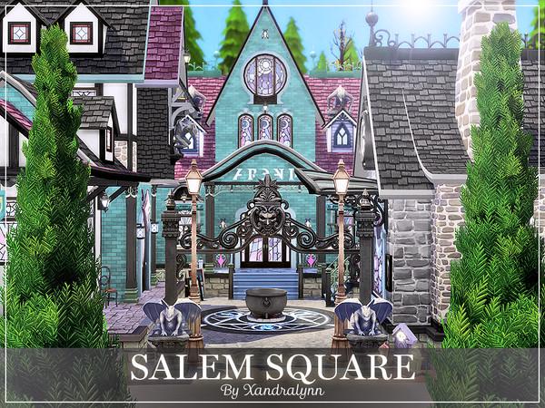 Sims 4 Salem Square by Xandralynn at TSR