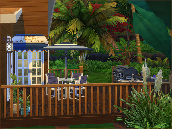SeaView Close house by oumamea at TSR image 426 Sims 4 Updates