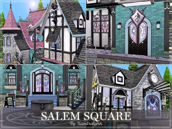 Salem Square by Xandralynn at TSR image 43 Sims 4 Updates