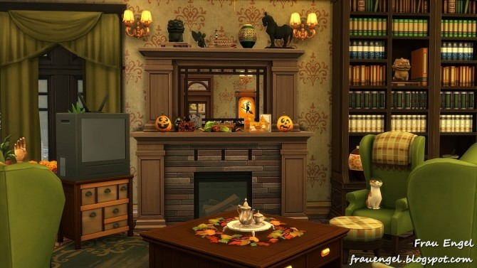 Sims 4 Merry Pumpkin House at Frau Engel
