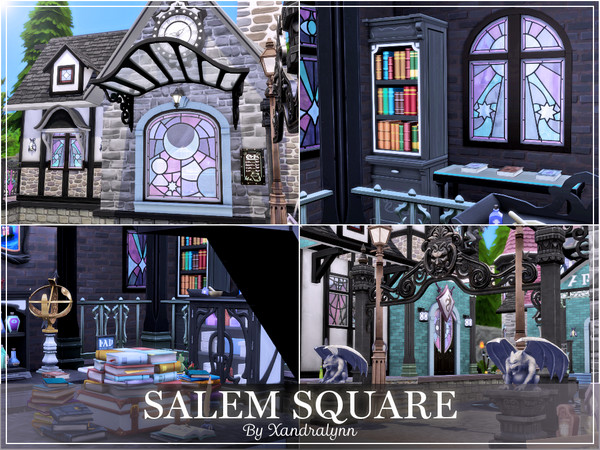 Salem Square by Xandralynn at TSR image 44 Sims 4 Updates