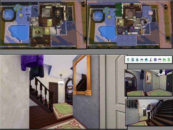 Sims 4 MB Little Treasure family house by matomibotaki at TSR