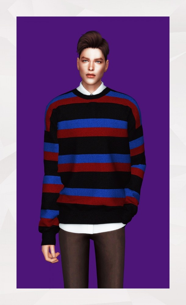 Sims 4 Sweater & Shirt at Gorilla
