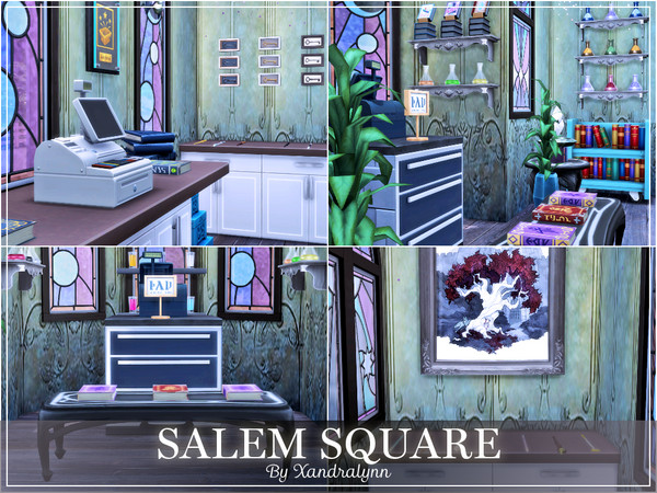 Salem Square by Xandralynn at TSR image 45 Sims 4 Updates