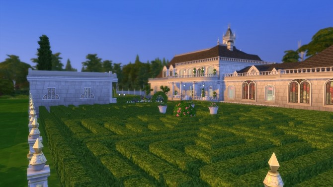 Sims 4 Royal palace No CC by Augustas at Mod The Sims