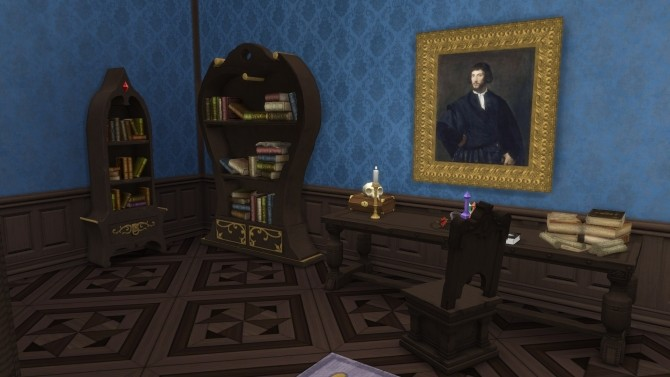 Two Fancy Bookshelves by TheJim07 at Mod The Sims image 4514 670x377 Sims 4 Updates