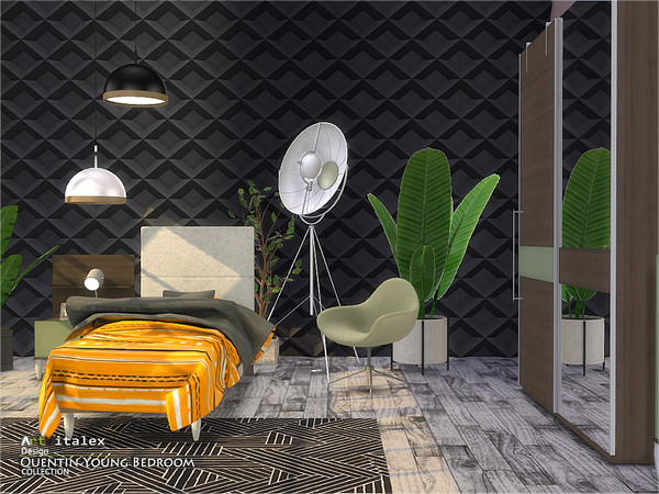 Quentin Young Bedroom by ArtVitalex at TSR image 457 Sims 4 Updates