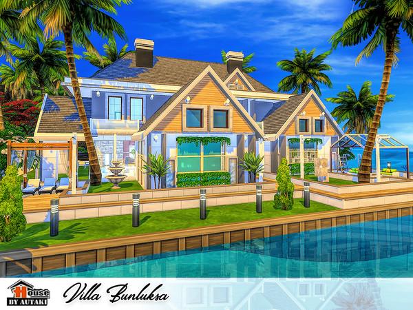 Sims 4 Villa Bunluksa by autaki at TSR