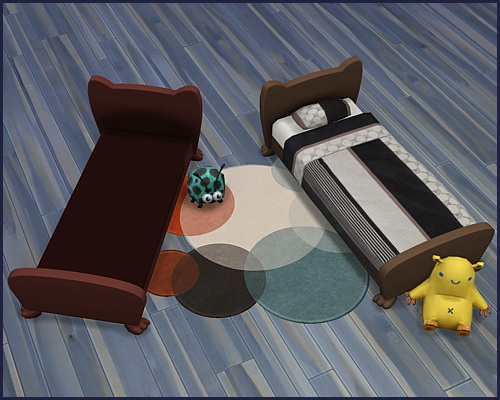 Bed frame Mr. Wuff & Mrs. Miau Toddler at CappusSims4You image 4612 Sims 4 Updates