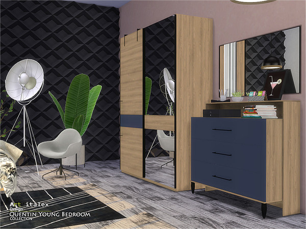 Quentin Young Bedroom by ArtVitalex at TSR image 467 Sims 4 Updates