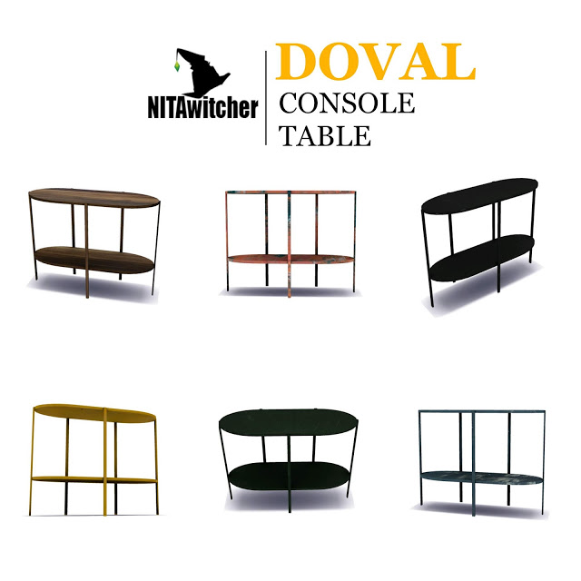 DOVAL CONSOLE TABLE at NITA image 478 Sims 4 Updates