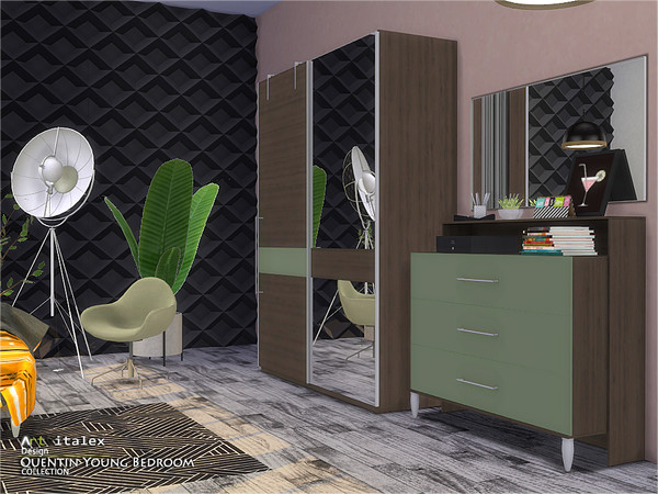 Quentin Young Bedroom by ArtVitalex at TSR image 487 Sims 4 Updates