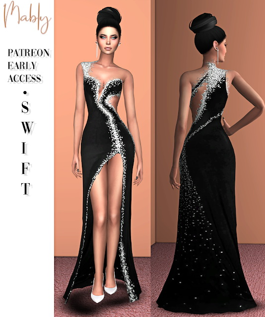 SWIFT dress (P) at Mably Store image 4911 Sims 4 Updates
