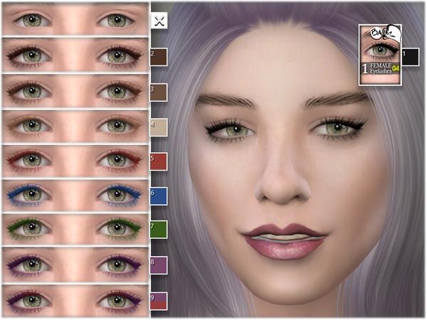 Sims 4 Female eyelashes 04 by BAkalia at TSR