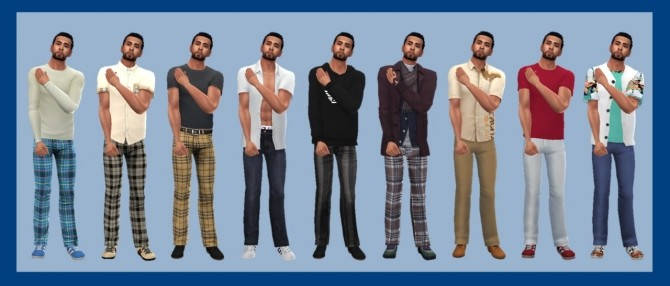 BG LONGLINE JEANS M at Sims4Sue image 5014 670x286 Sims 4 Updates