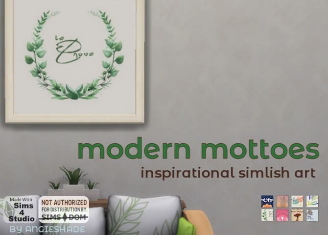 Modern mottoes at AngieShade – Intermittent simblr image 502 670x479 Sims 4 Updates