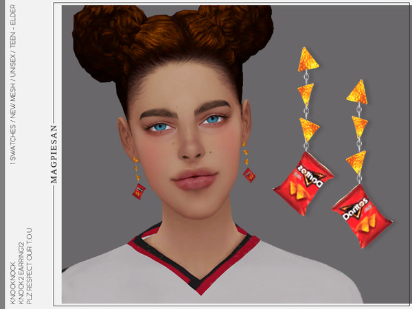 Sims 4 KNOCK2 EARRINGS 12 by magpiesan at TSR