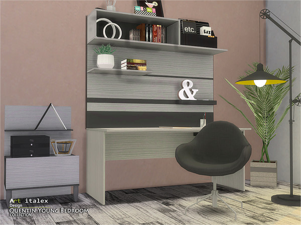 Quentin Young Bedroom by ArtVitalex at TSR image 507 Sims 4 Updates