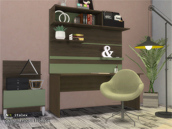 Quentin Young Bedroom by ArtVitalex at TSR image 5111 Sims 4 Updates