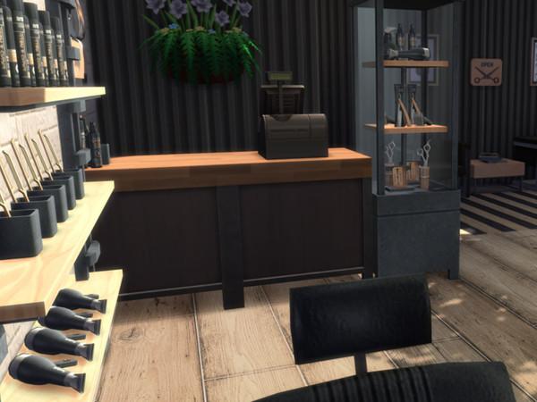 Tommys Barber Shop by MrsJulie at TSR image 514 Sims 4 Updates