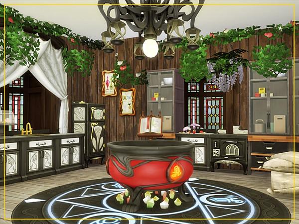 Sims 4 Old Manor by Danuta720 at TSR