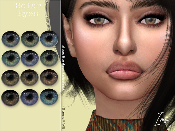 Sims 4 IMF Solar Eyes N.112 by IzzieMcFire at TSR