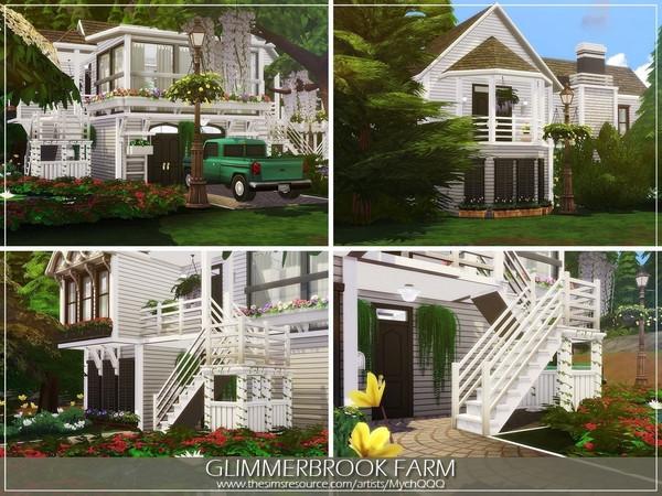 Sims 4 Glimmerbrook Farm by MychQQQ at TSR