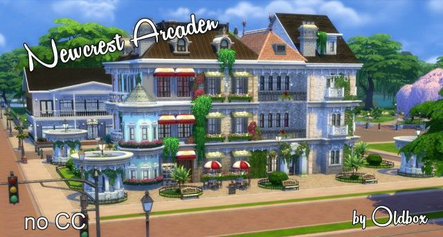 Newcrest Arcaden by Oldbox at All 4 Sims image 5411 Sims 4 Updates