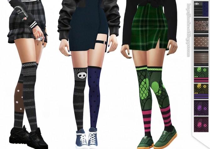 Thigh High Socks at Lorelea image 5412 670x477 Sims 4 Updates