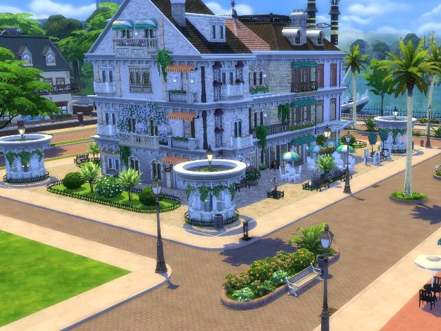 Newcrest Arcaden by Oldbox at All 4 Sims image 5511 Sims 4 Updates