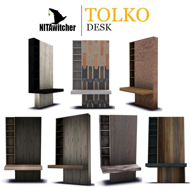Tolko DESK at NITA image 558 Sims 4 Updates