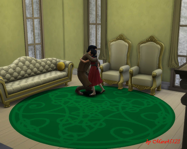 Rug celtic 01 at Mara45123 image 5613 Sims 4 Updates