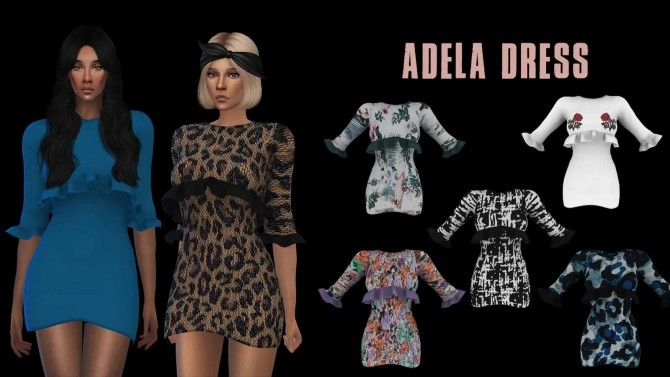Adela Dress at Leo Sims image 563 670x377 Sims 4 Updates