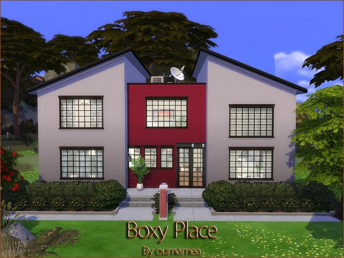 Boxy Place by oumamea at Mod The Sims image 567 670x503 Sims 4 Updates