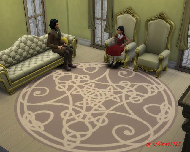 Rug celtic 01 at Mara45123 image 5713 Sims 4 Updates