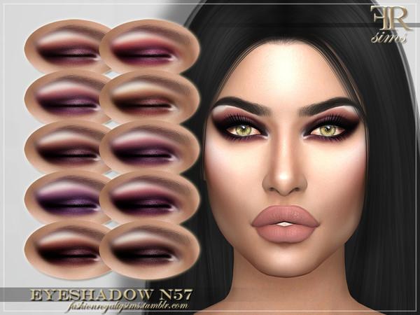 FRS Eyeshadow N57 by FashionRoyaltySims at TSR image 576 Sims 4 Updates