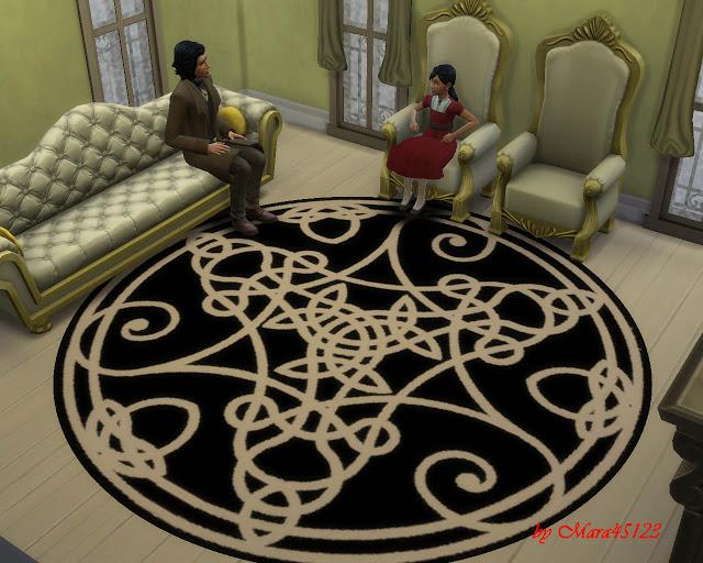 Rug celtic 01 at Mara45123 image 5812 Sims 4 Updates
