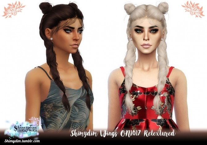 Wings ON1017 Hair Retexture Naturals + Unnaturals at Shimydim Sims image 5813 670x468 Sims 4 Updates