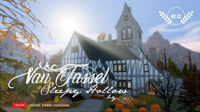 VAN TASSEL HOUSE  SLEEPY HOLLOW at RUSTIC SIMS image 6013 670x376 Sims 4 Updates
