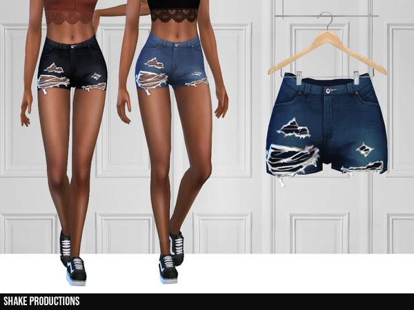 331 Denim Shorts by ShakeProductions at TSR image 6018 Sims 4 Updates